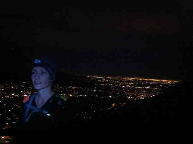 Hiking by moonlight is my new favorite thing!